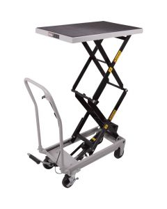 "HEAVY DUTY 500 LBS. CAPACITY HYDRAULIC TABLE CART""BRAND NEW"" IN BOX"