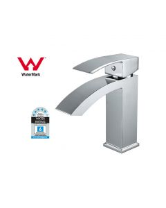 Prestige Antigua Mono Basin Mixer Tap with Click Waste Single Handle Chrome
