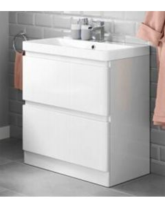 Bathroom Vanity Basin Unit Sink Storage Cabinet Freestanding,800mm