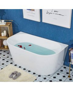 BATH MASTER FREESTANDING BATHTUB ACRYLIC CONTEMPORARY BATHROO 1300 X 750 X 580MM