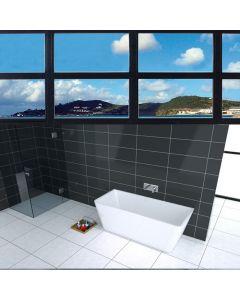 DRAQUE ACRYLIC FREE STANDING SOAKING BATHTUB 1500 X 750 X 590MM