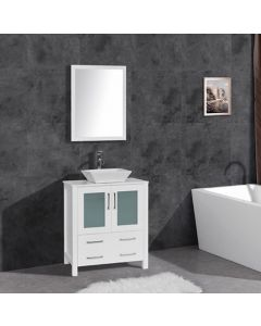 VANITY BATHROOM 750MM UNIT WITH MIRROR NEW