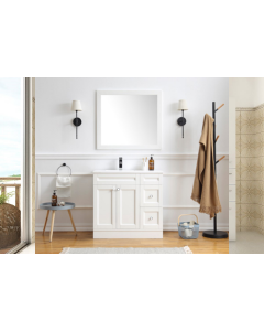 OXFORD 900MM HIGH QUALITY MODERN BATHROOM VANITY UNIT AND MIRROR