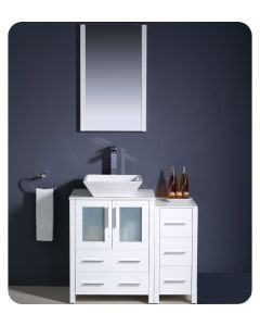 VANITY BATHROOM 900MM UNIT WITH MIRROR NEW