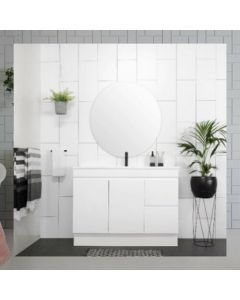 PALM 900MM HIGH QUALITY MODERN BATHROOM VANITY UNIT