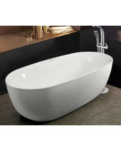 EDEN ACRYLIC FREESTANDING TUB 1700X750X580MM
