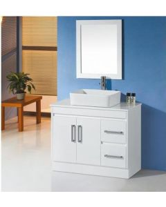 VANITY BATHROOM 900MM UNIT WITH MIRROR