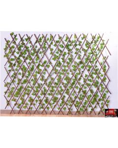 OUTDOOR ARTIFICIAL TRELLIS IVY LIVING WALLS GREEN LEAVES