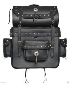 Motorcycle SissyBar Bag Studs&Tool Roll Bag For Motorcycle Cruiser Touring