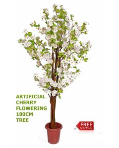 Artificial Artistic Peach Flowering Tree 180cm , Faux Tree, Fake Tree,