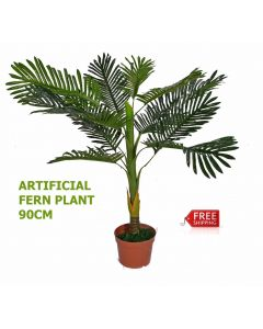 Artificial Plant Home Decoration Green FERN Plant 90cm Office Decor