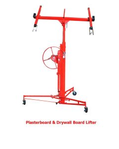 11FT Heavy Duty Drywall Lift Lifter Plaster Board Panel Hoist Jack Tool Lifting