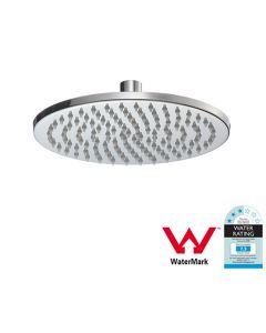 200mm Shower Head Round 304SS Polished Chrome Finish