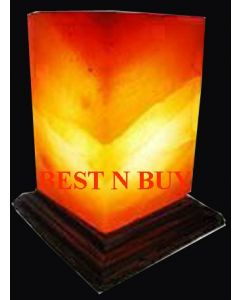 TRIANGLE SHAPED Himalayan Salt Lamp Rock Crystal Unique Ionizer