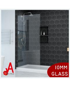 THE PLAYTIME WALK-IN SHOWER 1200X2000MM RECTANGLE FRAMELESS10MM GLASS